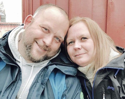 HJEM: Tom Harald Muland og Heidi Brænd trives veldig godt på sitt nye hjemsted.