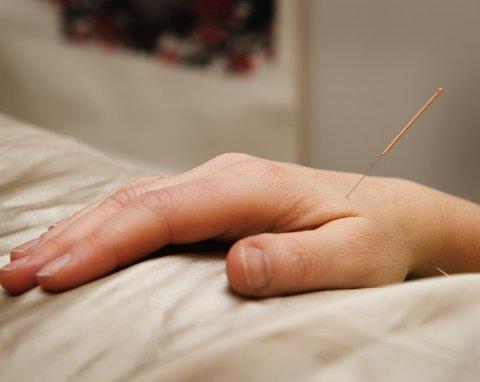 Dette er et mye brukt akupunkturpunkt.