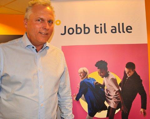 JOBBSKIFTE: Knut Nordby foretar et jobbskifte, fra Hapro Jobb og Karriere, til direktørjobb for AAF.