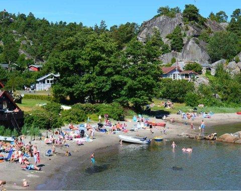 IDYLL: Solåsen i Vestfold blir fast leirskolested for sjuendeklassingene i Lunner framover.