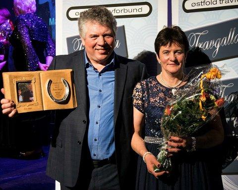 AKTIVT EKTEPAR: Både Nils Olav og Marianne er meget aktive i det lokale travmiljøet.