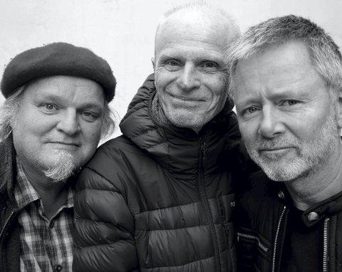 TRI0: Fliflet/Hamre og Knut Reiersrud på Hamar Teater. Foto: Knut Utler