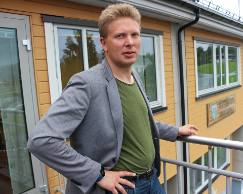 EN TREND: - Vi er en del av en trend med store flyttestrømmer, der regionsentre vinner og små kommuner taper, sier ordfører Harald Lie i Hattfjelldal. Foto: Rune Pedersen
