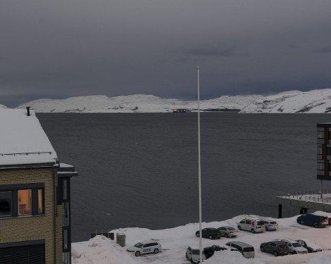 STØY: Et argument mot Leirpollen er at det blir godt synlig og hørbart fra Kirkenes sentrum.