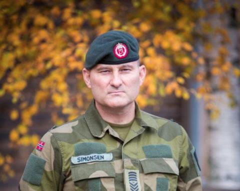 SJEF: Kristian Simonsen vokste opp i Harstad. Her og på Bjarkøy har han fremdeles familie.