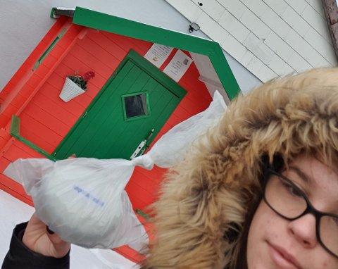 Her er bildebeviset frå Deimante, som fann det siste påskeegget i Uskedalen.