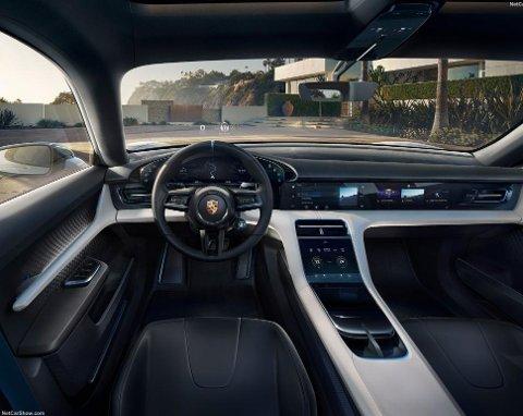 Slik ser interiøret i konseptbilen ut, vi snakker høy drøm-faktor.
