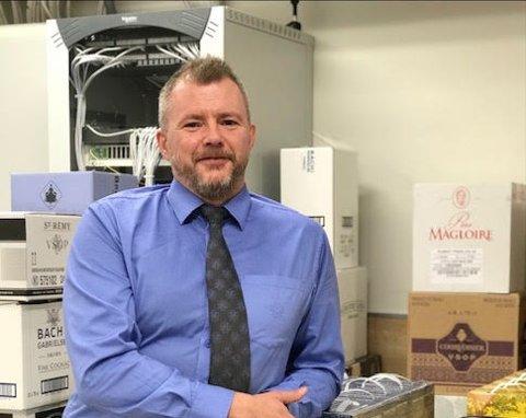 Atle Knudsen er sjef for det utsalget som hadde størst økning i Trondheim i 2020.