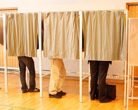 VALG: Nå kan du være med å bestemme hvilke politikere som skal styre de neste fire årene. Arkivfoto