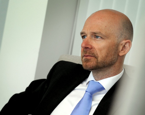 IKKE I TVIL: Advokat Tor Erik Heggøy la ikke skjul på hva han synes om Alexander Hesselbergs overføringer fra Pål Karsten Fevang.