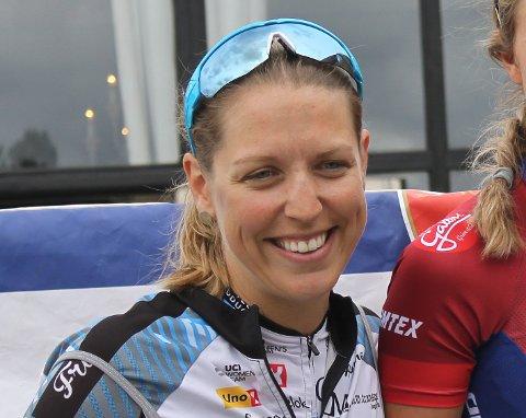 SYKLER EM: Julie Meyer Solvang kjører sitt første EM på landeveien lørdag.