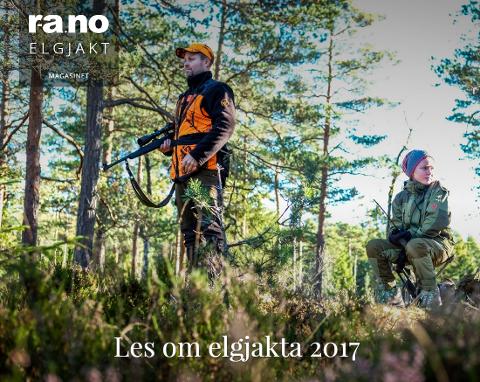 """Karen Skartveit Gudim (11) var med sin onkel Lars Vegar Bøhn (43) på posten """"de tre båla» sør for gåsefloa under åpningsdagen på elgjakta 5. oktober."""