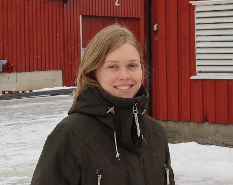 Eiendom: Signe Jahren har kjøpt Haraldstad gård. Her er hun avbildet på Grimstad gård hvor hun er daglig leder i firmaet Biocontrol.