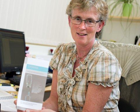 Helsesøster Kristin M. Andresen abefaler at man vaksinerer seg.