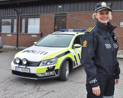 Etter to år som lensmann i Aurskog-Høland lensmannsdistrikt, forlater Hilde Hognestad Straumann jobben. Arkivfoto: Trym Helbostad