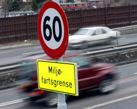 FRA MANDAG: Fra 4. mars blir det igjen miljøfartsgrense i Oslo.