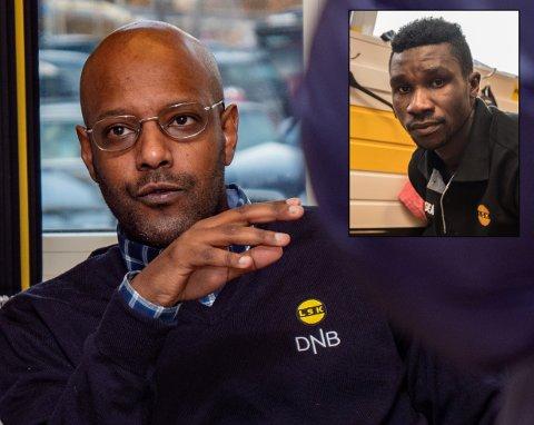 UTEN KONTRAKT: Ifeanyi Mathew er ikke enig med noen klubb om ny kontrakt. Han oppholder seg i Norge, men det har han ikke lov til uten arbeidstillatelse. Sportssjef Simon Mesfin stiller seg uforstående til at Mathew befinner seg i landet.