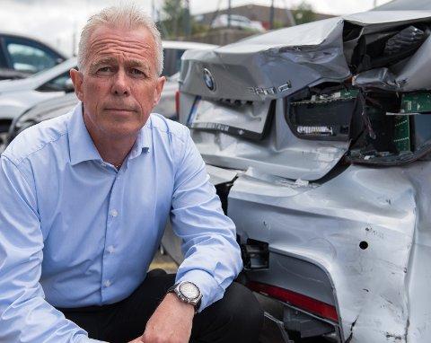 Arne Voll hos Gjensidige mener det er skremmende at så mange tror de kan ha kjørt med promille. (Foto: Gjensidige)