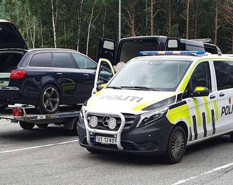 En fører av en varebil med tilhenger ble stoppet både mandag og tirsdag – begge gangene med overlast. I tillegg fikk innholdet i lasten Vegvesenet til å kontakte politiet.