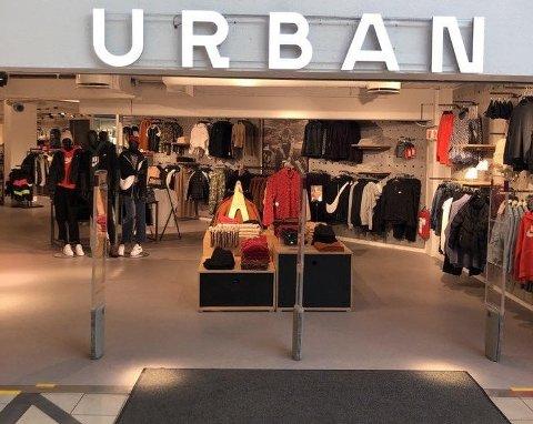 BLIR VÆRENDE: Urban-butikken blir værende, men vil etter hvert få et nytt navn.