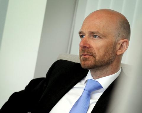 BOSTYRER: Advokat Tor-Erik Heggøy har greid å kvitte seg med varelageret til konkursrammede Easy Door.