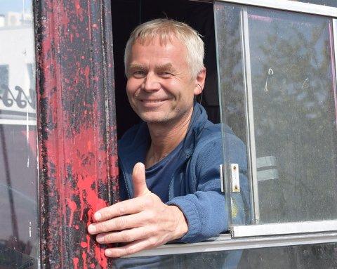 Veteran: I år kjørte Jarl russebuss for trettiende gang.