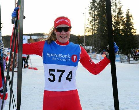 PÅ SKIGYMNAS: Aurora Mjøen Grøndalen (15) fra DFI starter nå på skigymnas for å bli en best mulig langrennsløper.