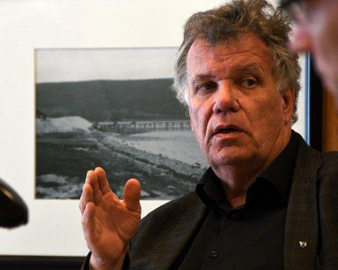 Jan Folke Sandnes skal til Straumen neste lørdag for å fortelle gode historier i anledning Skjømming på Alva.