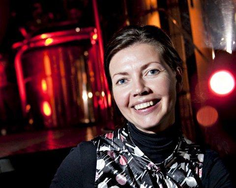 HANSAKVINNE: Kommunikasjonsansvarlig Anette Karlsen i Hansa Borg Bryggerier.ARKIVFOTO: VIDAR LANGELAND