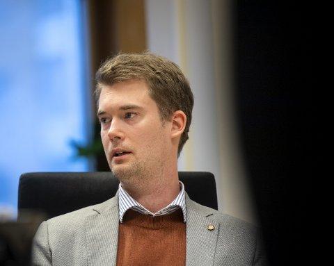 Byråd Erlend Horn (V).