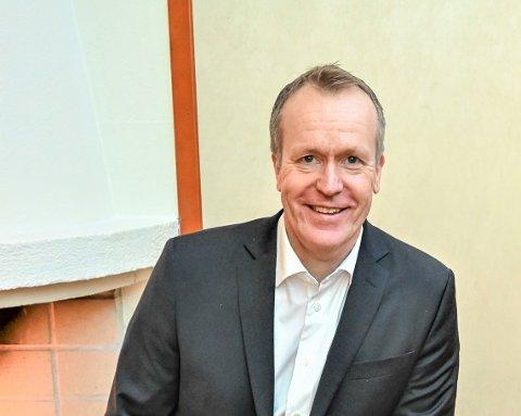 Administrerende banksjef Hans Kristian Glesne i Skue Sparebank.