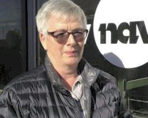 Fornøyd: Britt Tunby i Nav er glad for at arbeidsledigheten i Østfold synker.