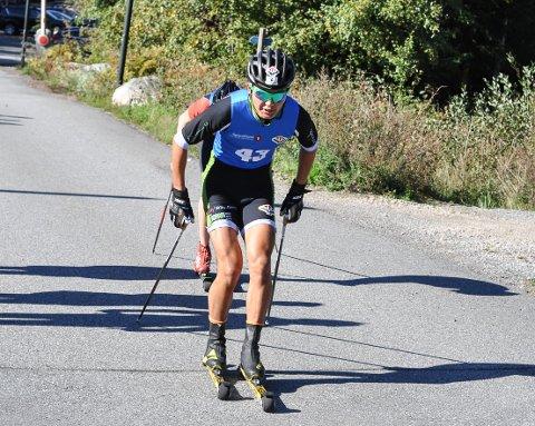 VAR STERK. Petter Stokkeland viste styrke og vant klart Petit tour de Tistedal.