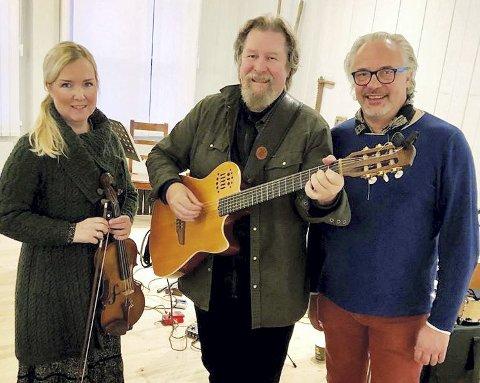 RØHNESALEN: Aud Ingebjørg Barstad, Tom S. Lund og Birger Mistereggen.