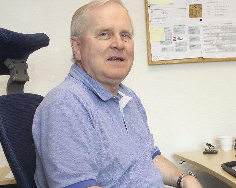 40 år: Roy Teodorsen har jobbet i Elkem i 40 år.
