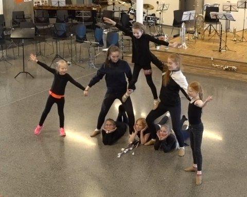 Drilltroppen til Kongsgårdmoen skolekorps