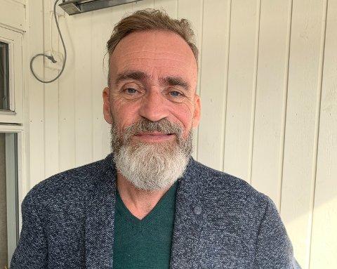 FØLGER DRØMMEN: Kåre Hatløy (52) pakker sammen livet i Veavågen og flytter til Lofoten.