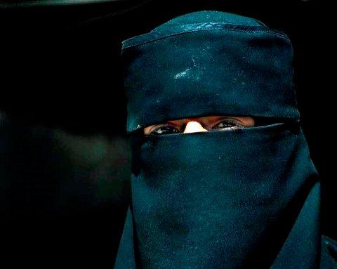 FORBUDT: Ansatte i Moss kommune får ikke bruke heldekkende ansiktsplagg på jobben.