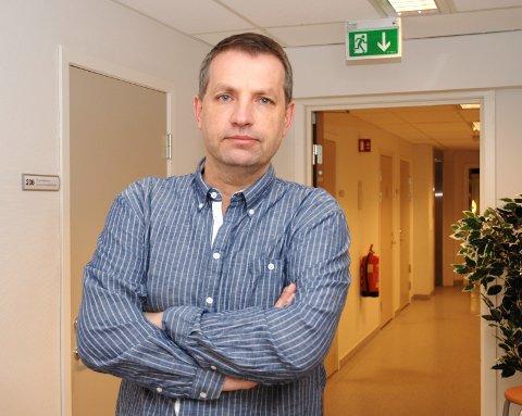 TILTALT: Leif Christensen var leder i Rygge SV.