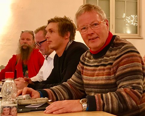 Ikke for alle: Aps Tomas Colin Archer vil ikke slippe inn alle på et møte om Frelsesarmeens boligprosjekt på Søly.