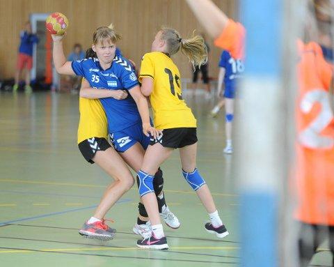 GOD: Anine Lyholt var god i turneringens siste kamper.