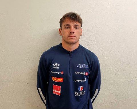 Heine Enger Kleiven gjør det bra på fotballbanen. Otta-gutten trente på vårparten fast med Ranheims 1.divisjonsspillere.