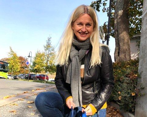 Glad i Drøbak: – Jeg har vært ekstra takknemlig for å bo i Drøbak nå de siste månedene tiden. Friheten med skog og sjø i nærheten er gull verdt, sier Marianne Kvamme Amengual.