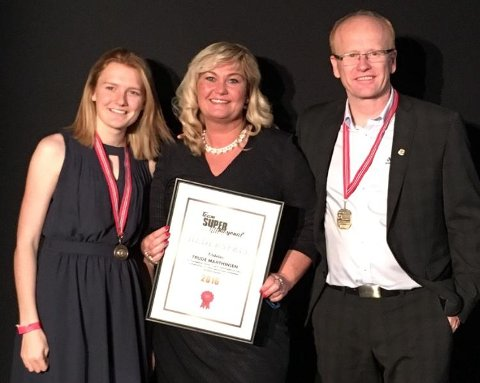 Ble hedret: Trude Marthinsen fikk Team Supernasjonals hederspris da Norges Bilsportforbund arrangerte sin årlige galla forrige helg.