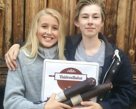 Vinnere: Dorthe Nilssen og Trygve Liehagen.