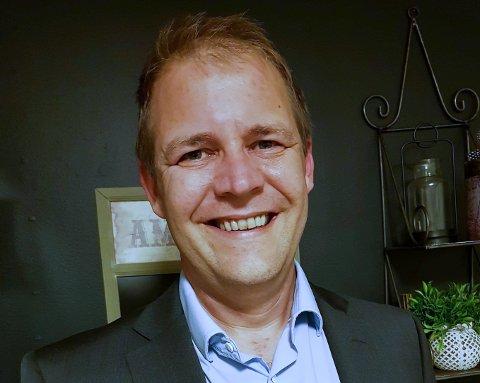 ET SPRINGBRETT: – Bare gjør det! oppfordrer Geir Egholm, som nådde langt i pitche-konkurransen i fjor.