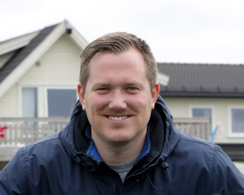 SPENNENDE: Trener Joakim Dragsten og resten av Eidsvold Turn gleder seg til å ta fatt på sin nye hverdag i PostNord-ligaen.