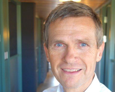 KOMMUNALSJEF: Terje Larsen er kommunalsjef for skole i Asker kommune.