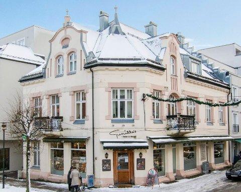 SKIFTER EIER IGJEN: Kongens gate 18 ble solgt for halvannet år siden. Nå er den til salgs igjen.