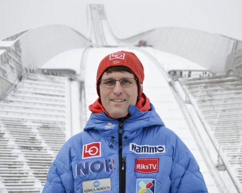 Utvikler hopprenn: Spydeberg-mannen Ståle Villumstad har ansvaret for å løfte hopp-arrangementer i Norge til et høyere nivå.